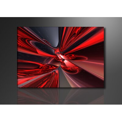 Urban Designs Lounge Graphic Art Wrapped on Canvas