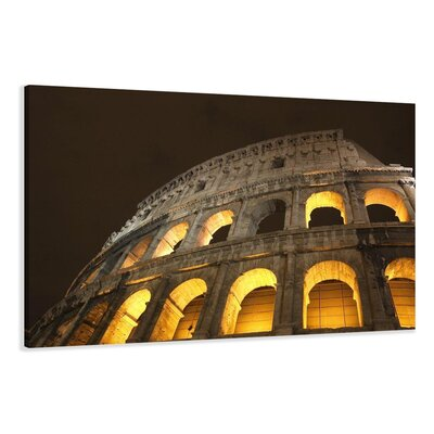 Urban Designs Colosseum Photographic Print on Canvas