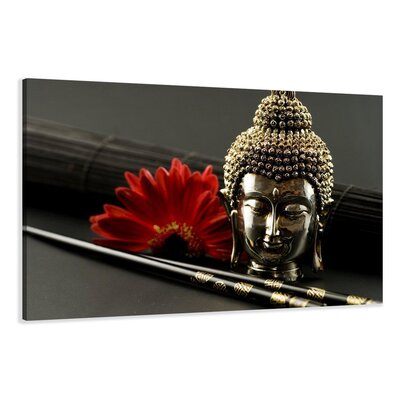Urban Designs Buddha Photographic Print on Canvas