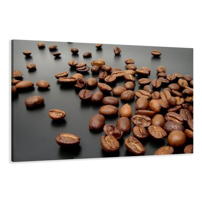 Urban Designs Coffee Photographic Print Wrapped on Canvas