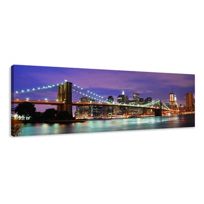 Urban Designs New York Photographic Print Wrapped on Canvas