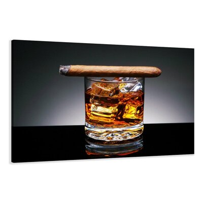 Urban Designs Cigar Photographic Print Wrapped on Canvas