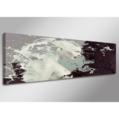 Urban Designs Faces Milk Graphic Art Wrapped on Canvas