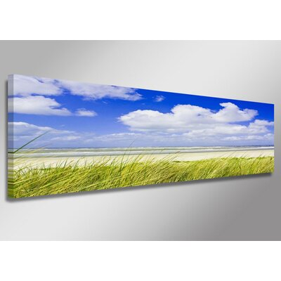 Urban Designs Beach Dunes Photographic Print Wrapped on Canvas