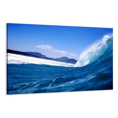 Urban Designs Wave Photographic Print on Canvas