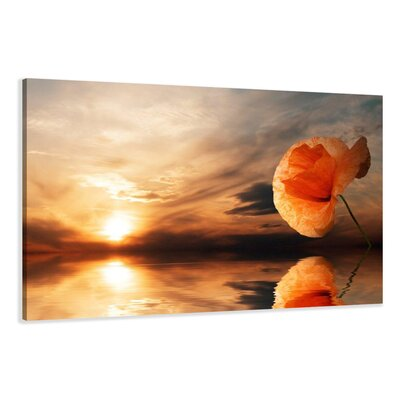 Urban Designs Beach Graphic Art Wrapped on Canvas