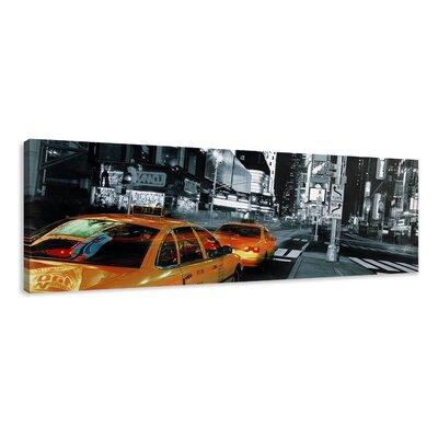 Urban Designs New York Cab Photographic Print on Canvas