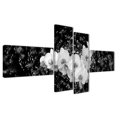 Urban Designs Abstract 4 Piece Photographic Print Wrapped on Canvas Set