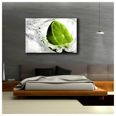 Urban Designs Lime Lemon Photographic Print on Canvas
