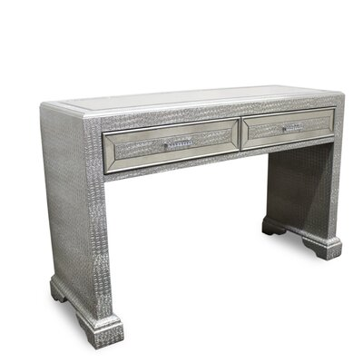 Console Table Color: Silver