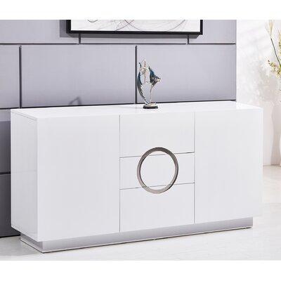 Modern 3 Drawer Accent Cabinet