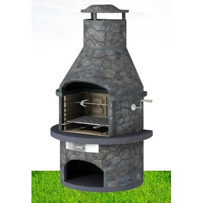 BK Cookware Rondo Masonary Built-In Charcoal Barbecue