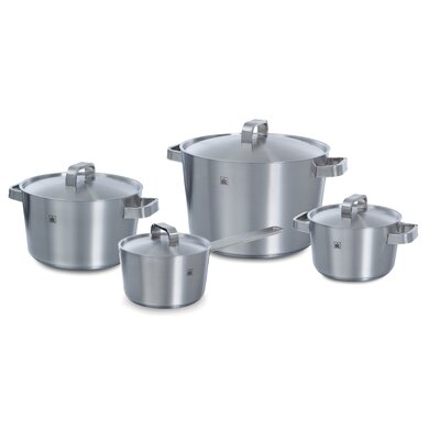 BK Cookware Conical Plus 4 Piece Stainless Steel Cookware Set