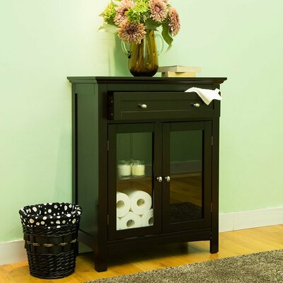 Wooden Freestanding 2 Door Accent Cabinet