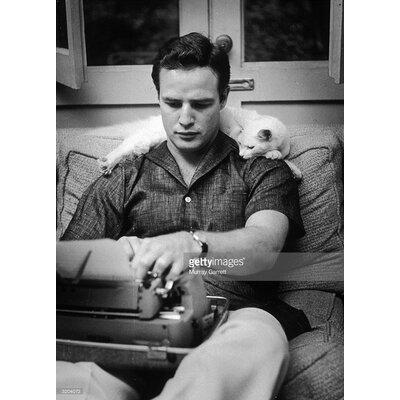 GettyImagesGallery Marlon Brando by Murray Garrett Photographic Print