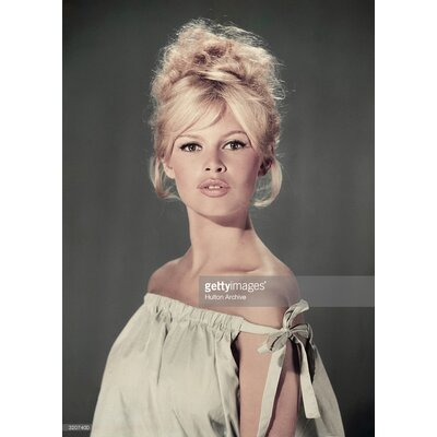 GettyImagesGallery Pouting Bardot by Hulton Archive Photographic Print