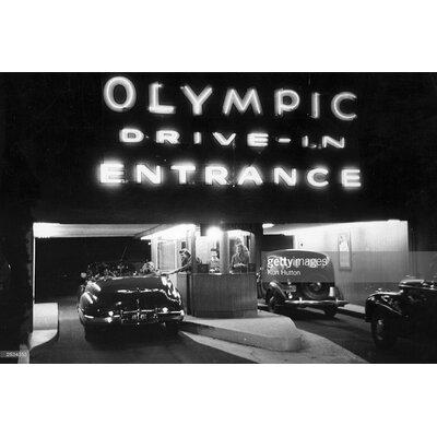 GettyImagesGallery Drive-in Cinema byKurt Hutton Photographic Print