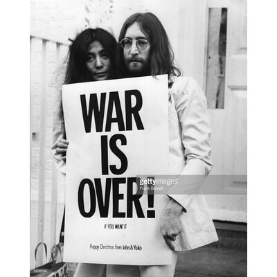 GettyImagesGallery War is Over by Frank Barratt Photographic Print