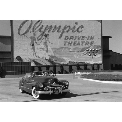 GettyImagesGallery Drive-in by Kurt Hutton Photographic Print