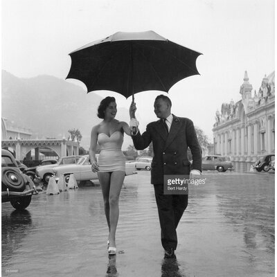 GettyImagesGallery Monte Carlo Rain by Bert Hardy Photographic Print