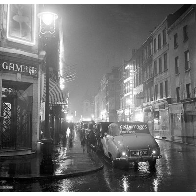 GettyImagesGallery Soho Night by Peter Purdy Photographic Print