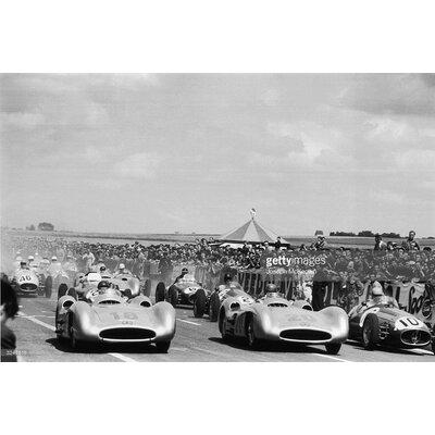 GettyImagesGallery Reims Grand Prix by Joseph McKeown Photographic Print