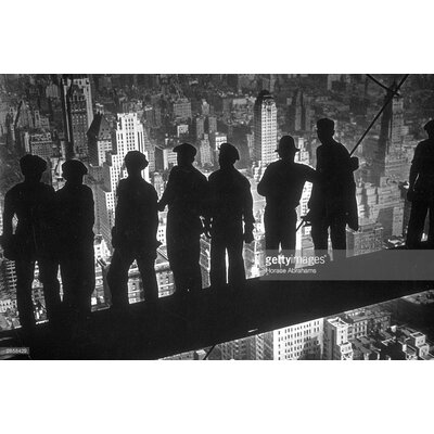 GettyImagesGallery New York Steelworkers by Horace Abrahams Photographic Print