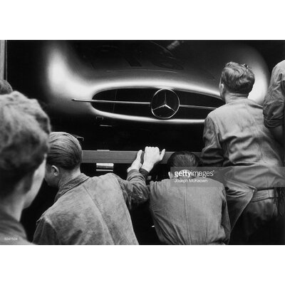 GettyImagesGallery Mercedes Inspection by Joseph McKeown Photographic Print