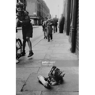 GettyImagesGallery Street Games by Thurston Hopkins Photographic Print