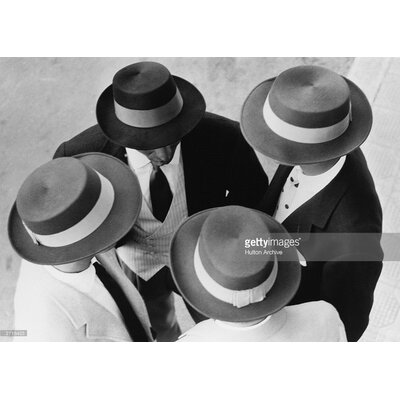 GettyImagesGallery Italian Hats Models by Hulton Archive Photographic Print