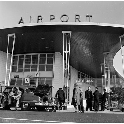 GettyImagesGallery Airport Arrivals by Orlando Photographic Print