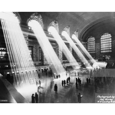 GettyImagesGallery Sun Beams into Grand Central Station by Hal Morey Photographic Print
