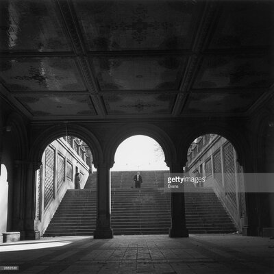 GettyImagesGallery Central Park Subway by Evans Photographic Print