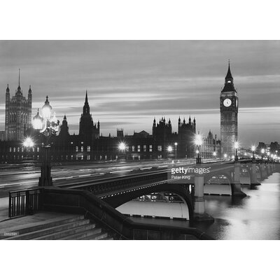 GettyImagesGallery Parliament By Night by Peter King Photographic Print