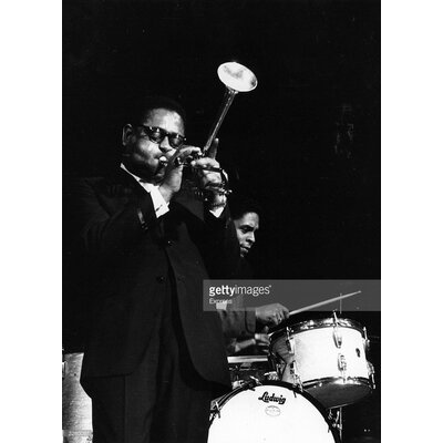GettyImagesGallery Dizzy Gillespie by Express Photographic Print
