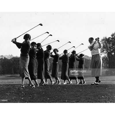 GettyImagesGallery Golf Lesson by Reg Speller Photographic Print