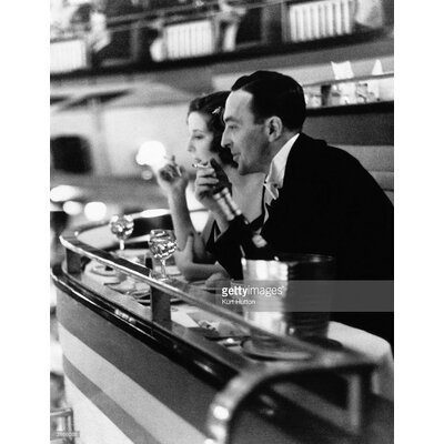 GettyImagesGallery Dining Out by Kurt Hutton Photographic Print