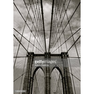GettyImagesGallery Brooklyn Bridge byAdrian Hopkins Photographic Print