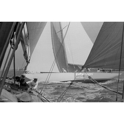 GettyImagesGallery Yachts Racing by Kurt Hutton Photographic Print