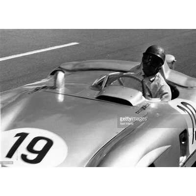 GettyImagesGallery Fangio at Le Mans by Bert Hardy Photographic Print