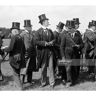 GettyImagesGallery Racing Gents by W. G. Phillips Photographic Print