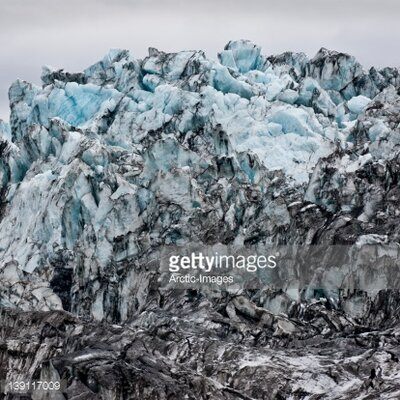 GettyImagesGallery Glacial Ice by Arctic-Images Photographic Print