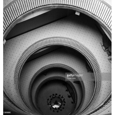 GettyImagesGallery Circular Staircase by Three Lions Photographic Print