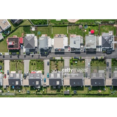 GettyImagesGallery Aerial View of Housing Development by Bernhard Lang Photographic Print