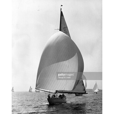 GettyImagesGallery Cowes Yacht by George W. Hales Photographic Print