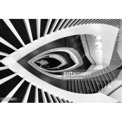 GettyImagesGallery Fish-Eye Abstract Staircase by Elena Kovalevich Photographic Print