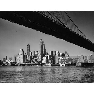 GettyImagesGallery Big Apple Skyline by Phil Burchman Photographic Print