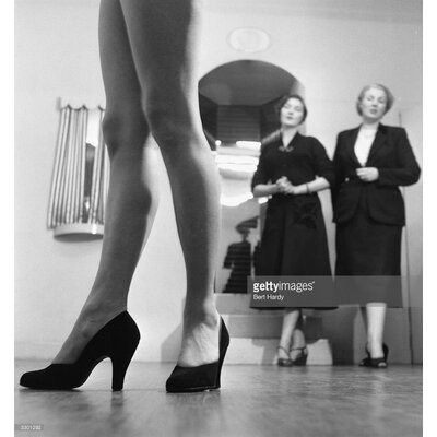 GettyImagesGallery Walking Lesson by Bert Hardy Photographic Print
