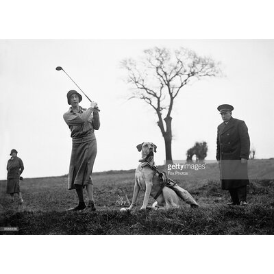GettyImagesGallery Canine Caddie by Fox Photos Photographic Print