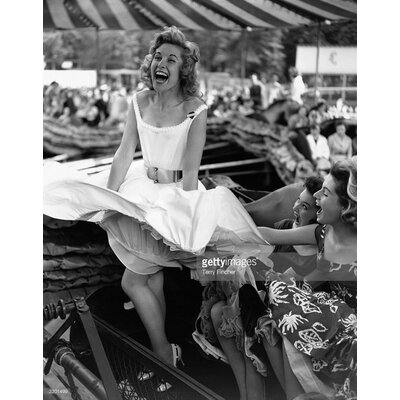 GettyImagesGallery Fun Fair Fun by Terry Fincher Photographic Print